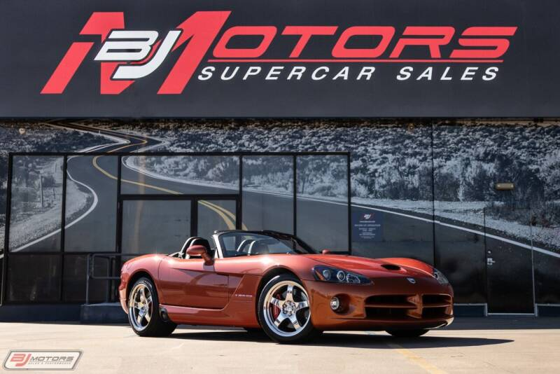 2005 Dodge Viper for sale at BJ Motors in Tomball TX