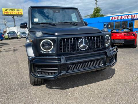 2019 Mercedes-Benz G-Class for sale at M-97 Auto Dealer in Roseville MI