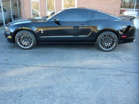2013 Ford Shelby GT500 for sale at D & B Auto Sales & Service in Martinsville VA