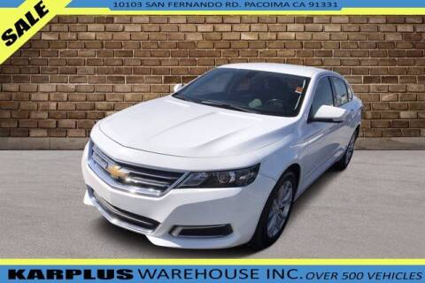 2017 Chevrolet Impala for sale at Karplus Warehouse in Pacoima CA