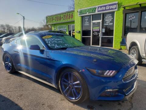 2017 Ford Mustang for sale at Empire Auto Group in Indianapolis IN