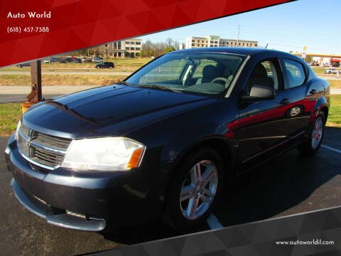 2008 Dodge Avenger for sale at Auto World in Carbondale IL