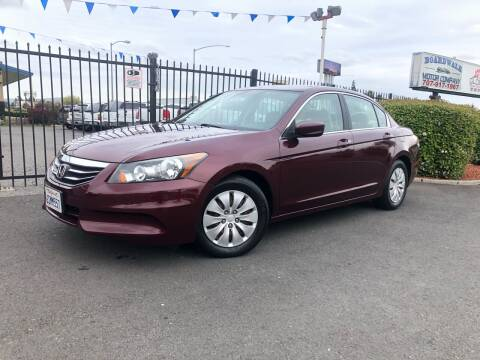2011 Honda Accord for sale at BOARDWALK MOTOR COMPANY in Fairfield CA