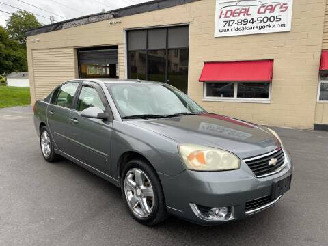2006 Chevrolet Malibu for sale at I-Deal Cars LLC in York PA
