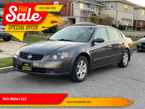 2005 Nissan Altima for sale at Reis Motors LLC in Lawrence NY