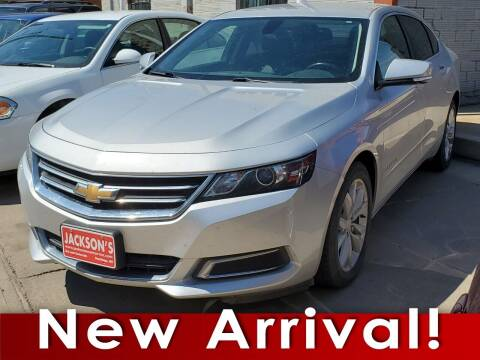2017 Chevrolet Impala for sale at Jacksons Car Corner Inc in Hastings NE