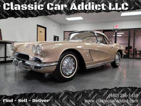 1962 Chevrolet Corvette for sale at Classic Car Addict in Mesa AZ