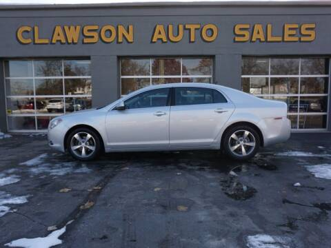 2011 Chevrolet Malibu for sale at Clawson Auto Sales in Clawson MI