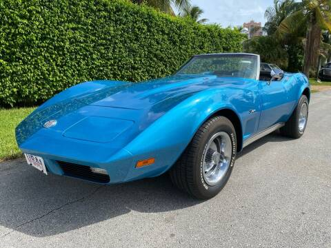 1974 Chevrolet Corvette for sale at American Classics Autotrader LLC in Pompano Beach FL