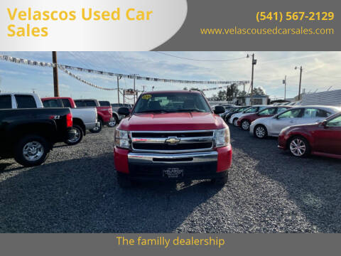 2011 Chevrolet Silverado 1500 for sale at Velascos Used Car Sales in Hermiston OR