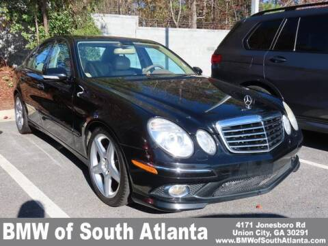 2009 Mercedes-Benz E-Class for sale at Carol Benner @ BMW of South Atlanta in Union City GA