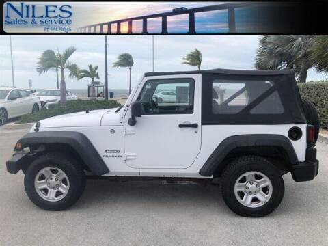 2011 Jeep Wrangler for sale at Niles Sales and Service in Key West FL