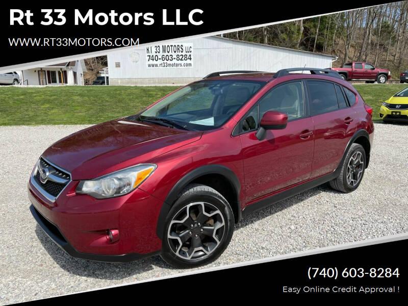 2013 Subaru XV Crosstrek for sale at Rt 33 Motors LLC in Rockbridge OH