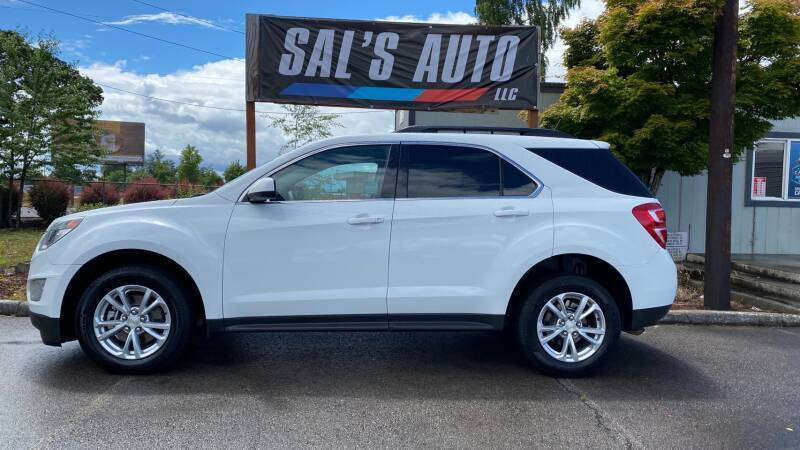 2017 Chevrolet Equinox for sale at Sal's Auto in Woodburn OR
