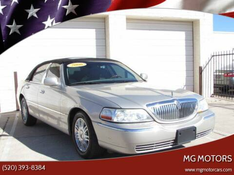 2006 Lincoln Town Car for sale at MG Motors in Tucson AZ