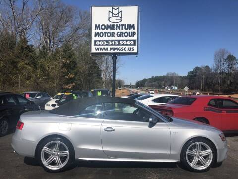2014 Audi S5 for sale at Momentum Motor Group in Lancaster SC