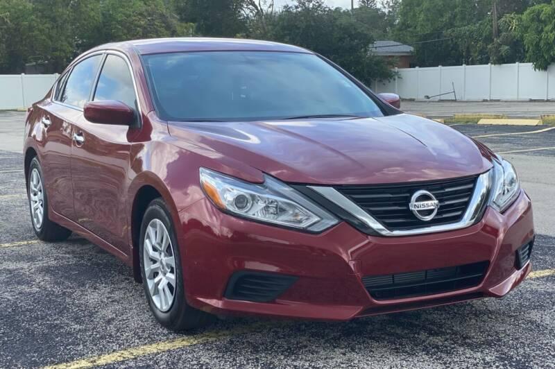 2018 Nissan Altima for sale at Guru Auto Sales in Miramar FL