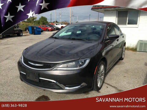 2015 Chrysler 200 for sale at Savannah Motors in Cahokia IL