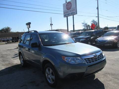 2013 Subaru Forester for sale at Motor Point Auto Sales in Orlando FL