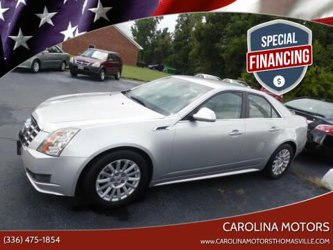 2013 Cadillac CTS for sale at CAROLINA MOTORS in Thomasville NC