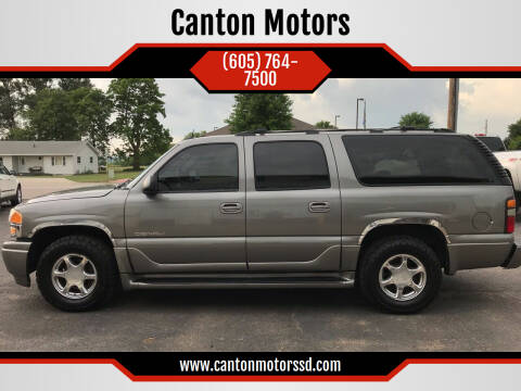 2005 GMC Yukon XL for sale at Canton Motors in Canton SD