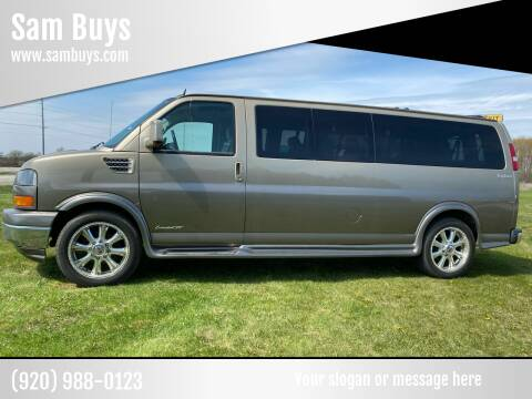 2012 GMC Savana Cargo for sale at Sam Buys in Beaver Dam WI