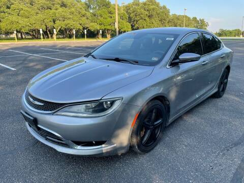 2015 Chrysler 200 for sale at Central Motor Company in Austin TX