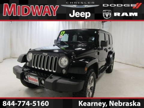 2017 Jeep Wrangler Unlimited for sale at MIDWAY CHRYSLER DODGE JEEP RAM in Kearney NE