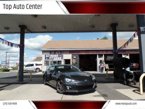 2014 Subaru BRZ for sale at Top Auto Center in Quakertown PA