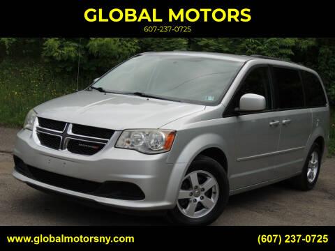 2012 Dodge Grand Caravan for sale at GLOBAL MOTORS in Binghamton NY