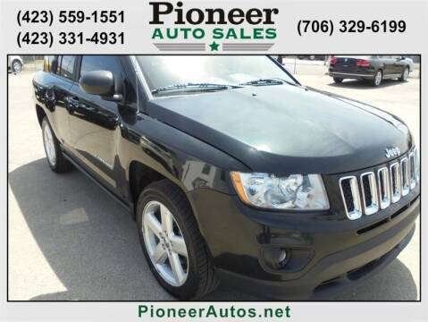 2013 Jeep Compass for sale at PIONEER AUTO SALES LLC in Cleveland TN
