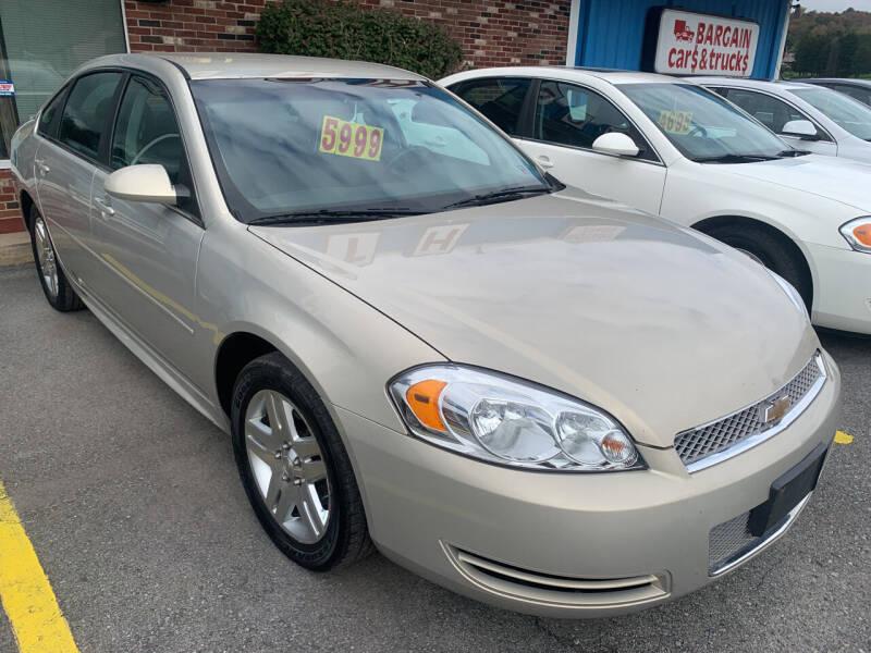 2012 Chevrolet Impala for sale at BURNWORTH AUTO INC in Windber PA