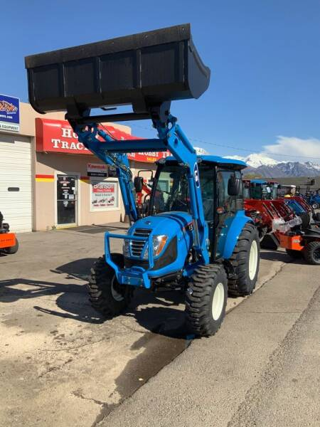 2020 LS XR4155H TRACTOR AND LOADER