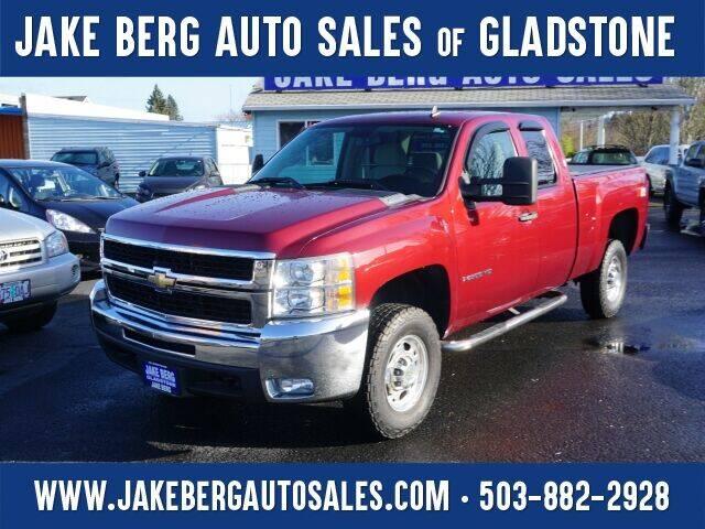2008 Chevrolet Silverado 2500HD for sale at Jake Berg Auto Sales in Gladstone OR