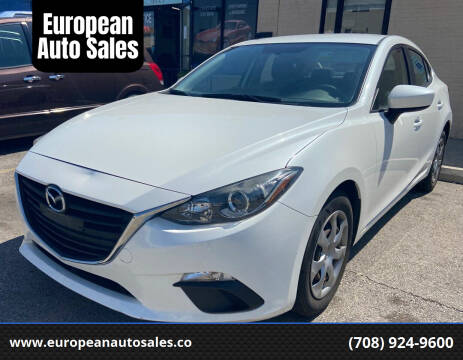 2014 Mazda MAZDA3 for sale at European Auto Sales in Bridgeview IL