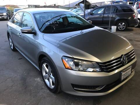 2014 Volkswagen Passat for sale at CAR GENERATION CENTER, INC. in Los Angeles CA