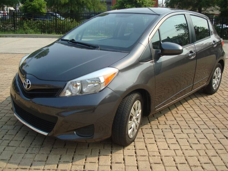 2014 Toyota Yaris for sale at Tempo Auto of Chicago in Chicago IL