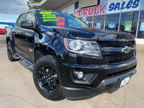 2017 Chevrolet Colorado for sale at Xtreme Truck Sales in Woodburn OR