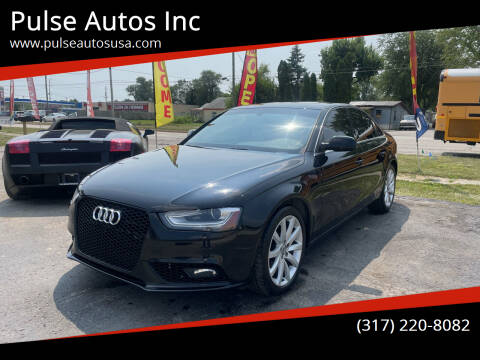2013 Audi A4 for sale at Pulse Autos Inc in Indianapolis IN