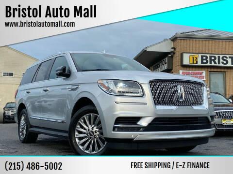 2018 Lincoln Navigator for sale at Bristol Auto Mall in Levittown PA