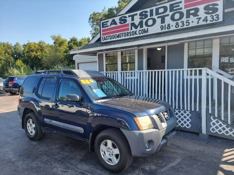 2006 Nissan Xterra for sale at EASTSIDE MOTORS in Tulsa OK
