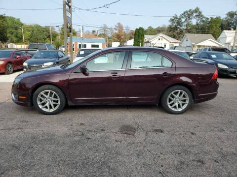 2011 Ford Fusion for sale at RIVERSIDE AUTO SALES in Sioux City IA