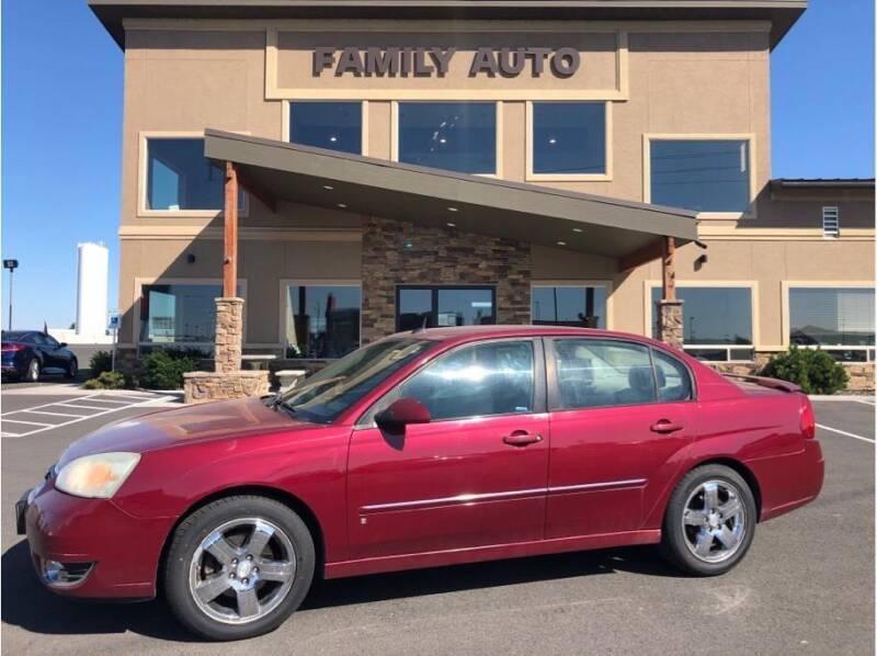2007 Chevrolet Malibu for sale at Moses Lake Family Auto Center in Moses Lake WA