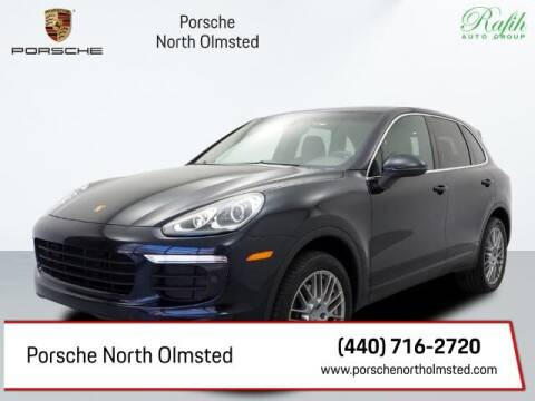 2017 Porsche Cayenne for sale at Porsche North Olmsted in North Olmsted OH