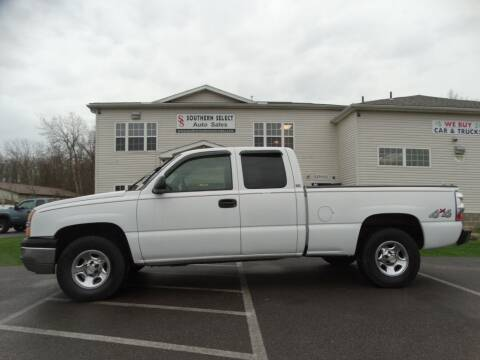2004 Chevrolet Silverado 1500 for sale at Cj king of car loans/JJ's Best Auto Sales in Troy MI