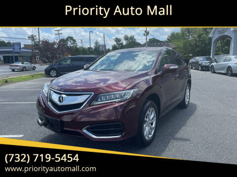 2018 Acura RDX for sale at Priority Auto Mall in Lakewood NJ