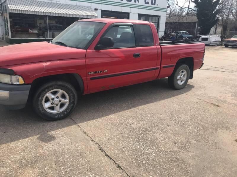 1999 Dodge Ram Pickup 1500 for sale at Hall's Motor Co. LLC in Wichita KS