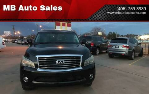 2011 Infiniti QX56 for sale at MB Auto Sales in Oklahoma City OK