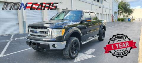 2013 Ford F-150 for sale at IRON CARS in Hollywood FL