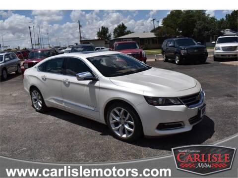 2014 Chevrolet Impala for sale at Carlisle Motors in Lubbock TX